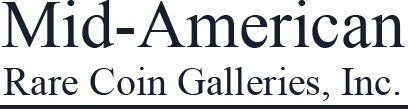 Mid-American Rare Coin Galleries Logo